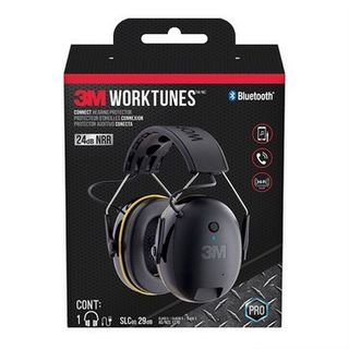 3M WorkTunes Connect Wireless Hearing Protector With Bluetooth