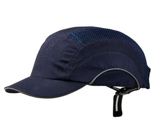 Bump Cap Short Peak Navy