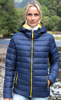 Ladies Snow Bird Hooded Jacket