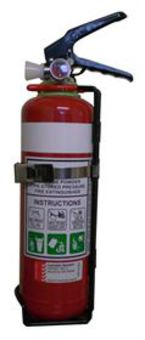 Fire Extinguisher ABE Dry Powder 1kg (Rating: 1A:20B:E)