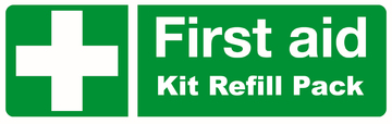 (Refill Pack) Industrial 1-5 Person First Aid Kit