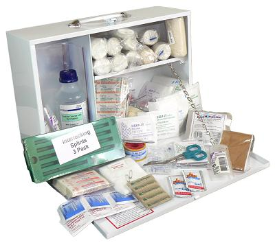 Maxi Farm Shed First Aid Kit (Wall Mountable Metal Box)