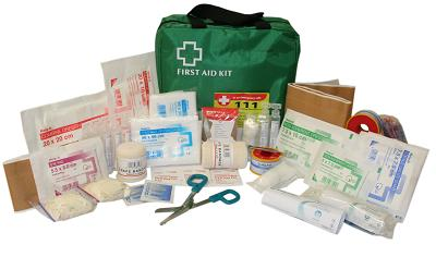 Industrial 1-25 Person First Aid Kit (Soft Pack)