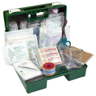 Dad's Shed First Aid Kit (Wall Mountable Clip On/Off Box)