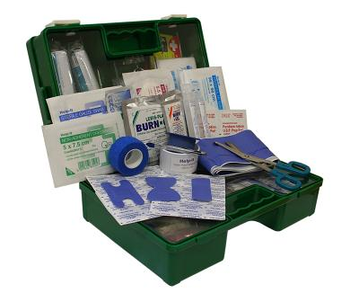 Small Catering First Aid Kit (Wall Mountable Clip On/Off Box)