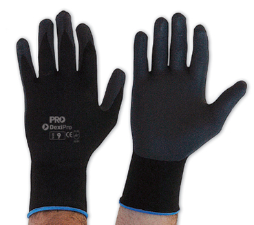 Gloves DexiPro Ultra Thin Nitrile Coated Palm