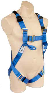 Full Body Harness Confined Space Loops Lower Chest Loops