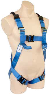 Full Body Harness Confined Space Loops Lower Chest Loops Quick Release Buckles SBE3KQR