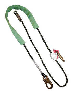 Kernmantle Rope Pole Strap with Rope Grab 2.5m