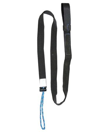Wrist strap choke with tool lanyard all in one