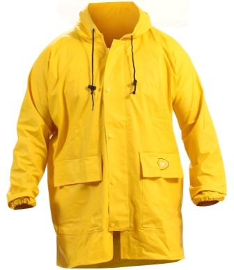 Parka PVC Heavy Duty Yellow or Green