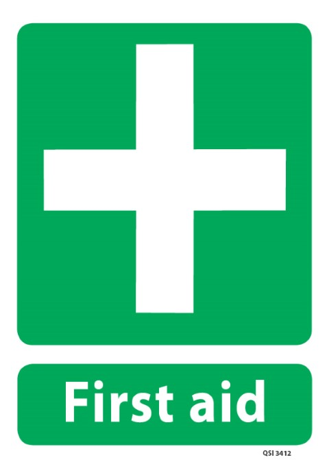 First Aid 340 x 240mm