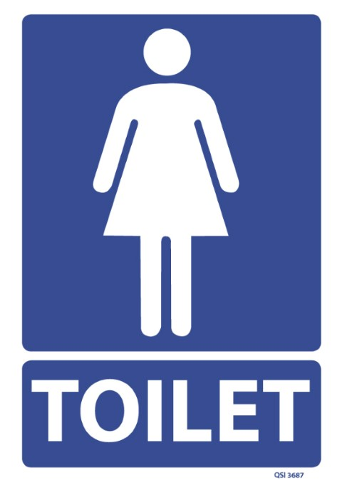 Female Toilet 240x240mm