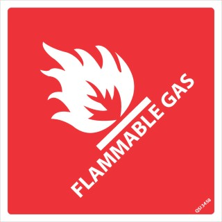 Flammable Gas 240x240mm