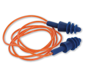 Earplugs PRO-SIL Reusable Silicon Class 3 Corded