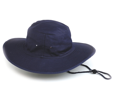 Poly Cotton Sun Hat - Select Colour