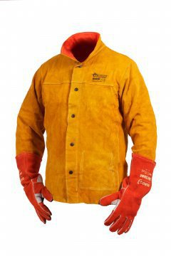 Fusion Red Welders Jacket