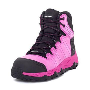 Ladies Mack Hi Viz McGrath2 Pink Safety Boots