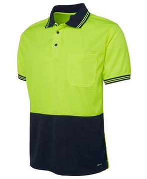 Hi Vis Short Sleeve Traditional Polo-Select Colour