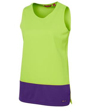 Ladies Hi Vis Traditional Singlet-Select Colour