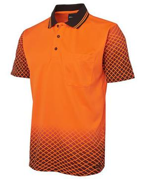 Hi Vis Net Sub Polo-Select Colour