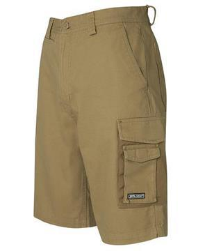 Canvas Cargo Short Khaki