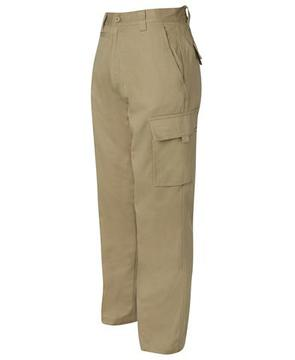 Mercerised Work Cargo Pant Khaki