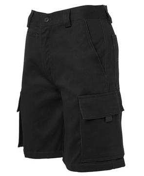 Ladies Multi Pocket Short Black