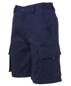 Ladies Multi Pocket Short Navy