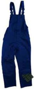 Bib and Brace Overalls PolyCotton Navy