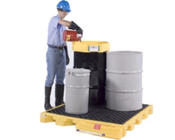 Ultra Spill Deck Bladder System - 4 Drum Capacity