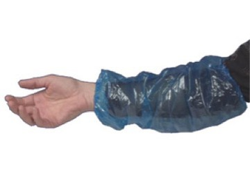 PE Sleeve Covers Blue