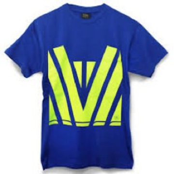 Hi Vis Tee Royal Yellow
