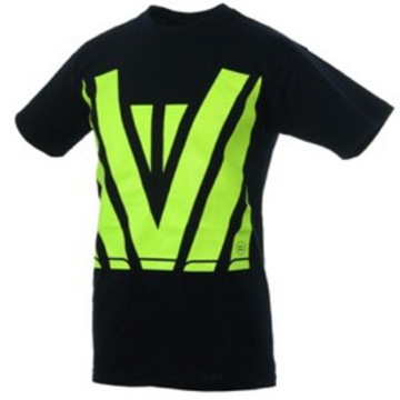 Hi Vis Tee Black Yellow