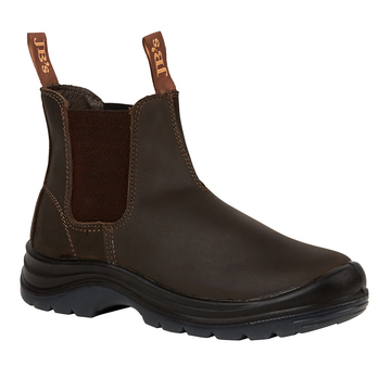 JB's Elastic Sided Safety Boot Claret