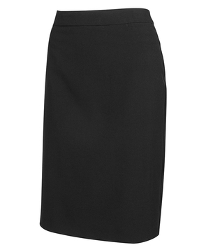 JB's Ladies Mech Stretch Long Skirt Black