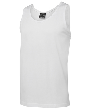 JB's 100% Cotton Singlet White