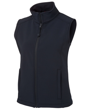 JB's Ladies Layer Softshell Vest- Select Colour