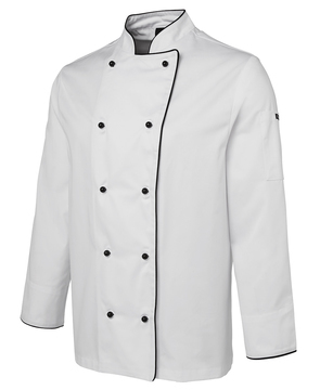 JB's Long Sleeve Unisex Chefs Jacket - Select Colour