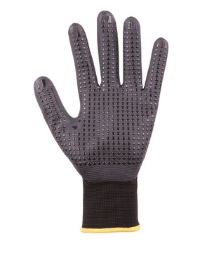 Nitrile Gripper Glove With Dot Palm