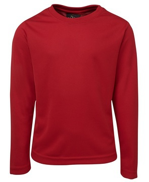 Long Sleeve Poly Tee - Select Colour