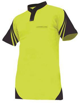 Protex 145g Cotton Back Day Only Polo Yellow Navy