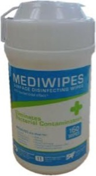 Mediwipes Canister - 160 Wipes
