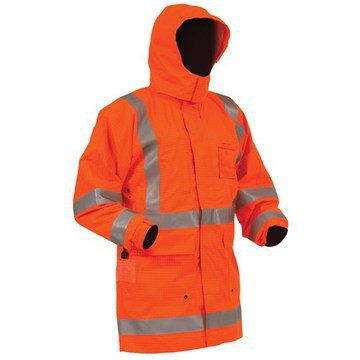 Bison Rigour Anti-Static FR Jacket Orange