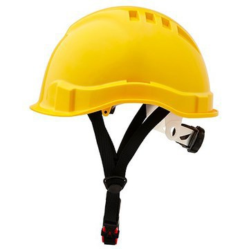 Hard Hat Vented Micro Peak Yellow