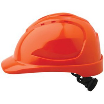 Hard Hat V9 Vented Ratchet Adjustment Orange