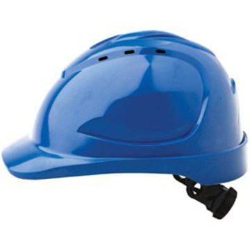 Hard Hat V9 Vented Ratchet Adjustment Blue