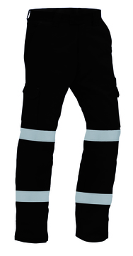 TWZ RIPSTOP 210gsm 100% Cotton Tape Trouser Black