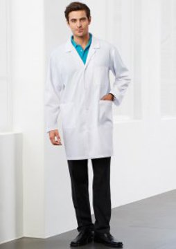 Adults Classic Lab Coat White