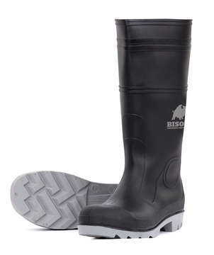 Bison PVC Safety Gumboot